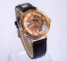 Load image into Gallery viewer, Rose-Gold SKELETON Mechanical Watch | Luxury Premium Watch