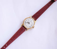 Load image into Gallery viewer, Timex Gold-tone Mechanical Vintage Watch | Unique Ladies Watches