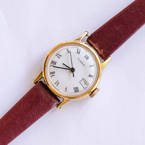 Timex Gold-tone Mechanical Vintage Watch | Unique Ladies Watches