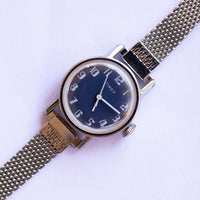 Blue Dial Mechanical Timex Watch | Unique Vintage Timex Watches