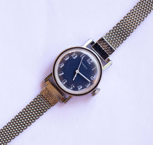 Load image into Gallery viewer, Blue Dial Mechanical Timex Watch | Unique Vintage Timex Watches