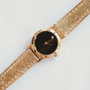 Black Dial Vintage Mechanical Ladies Watch | Luxury Watches For Sale