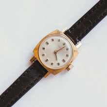 Load image into Gallery viewer, Square Water Resistant Timex Mechanical Watch | Vintage Gift Watch