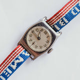 Military Sergent Vintage Reloj mecánico | 1940 WW2 Watch para hombres y mujeres