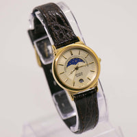 Moon Phase Geneva Quartz Watch | Moonphase Watch Collection