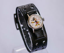 Load image into Gallery viewer, 1971 Ingersoll Mickey Mouse Mechanical Watch | 70s Walt Disney Watch