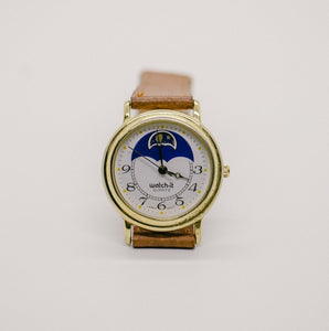 Watch it Moon Phase Watch | Beautiful Gold-tone Vintage Watch