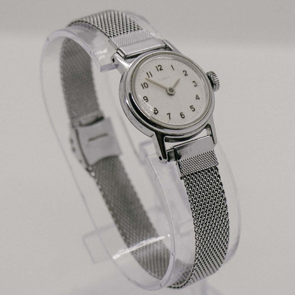 Vintage Ladies Mechanical Timex Watch | Retro Timex Watch for Women