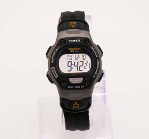 Black Timex Ironman Sports Watch for Men and Women Digital Display