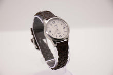 Load image into Gallery viewer, Timex Indiglo Classic Watch Brown Leather Watch Strap 90s Wristwatches