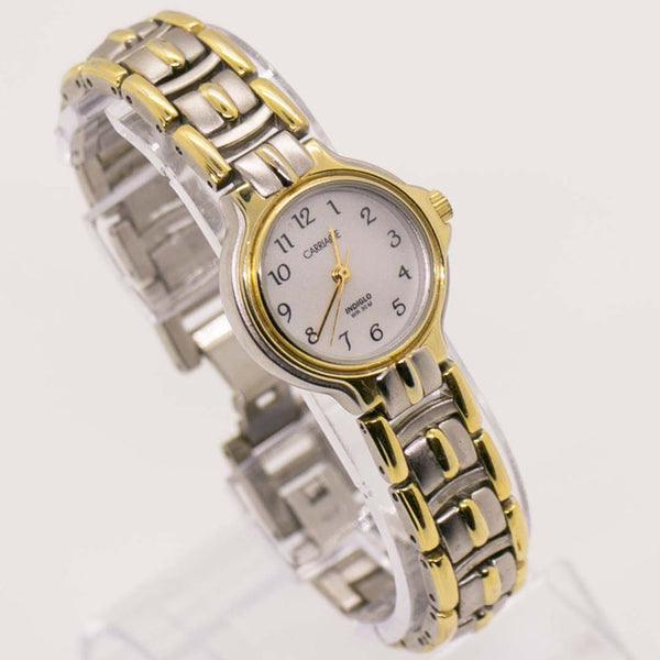 Two-Tone Carriage by Timex Indiglo Watch | Carriage Quartz Watch WR 30M
