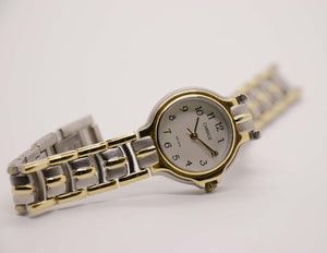 Retro Two-Tone Carriage by Timex Watch WR 30M