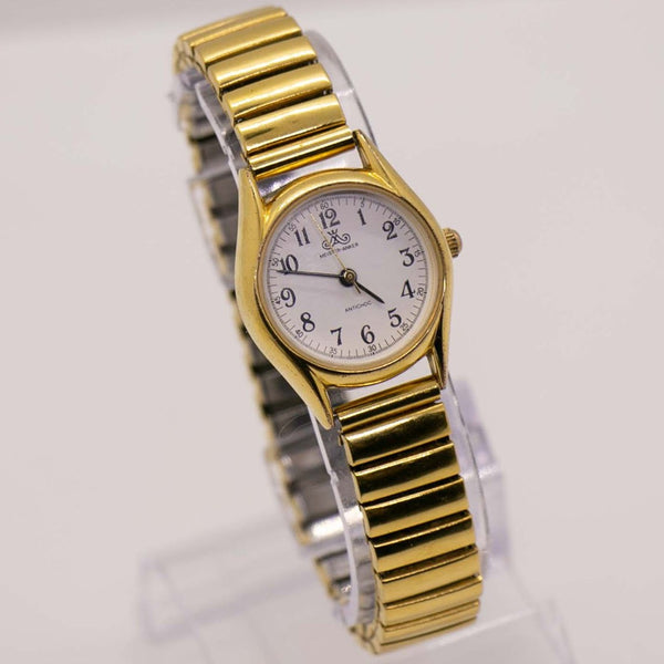 Vintage Gold-tone Meister Anker Watch | Antichoc German Quartz Watch