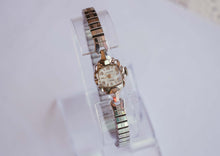 Load image into Gallery viewer, MEARS 21 Jewels Mechanical Vintage Watch | Silver-Tone Wedding Watch