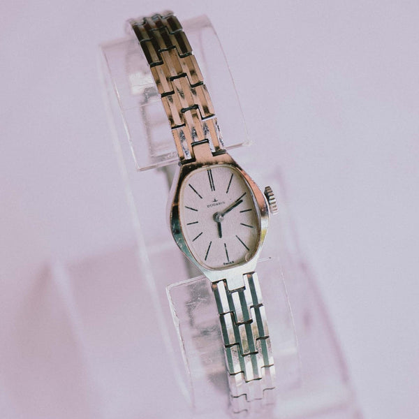 Rare Silver-tone Dugena Mechanical Watch | Best Vintage Ladies Watches