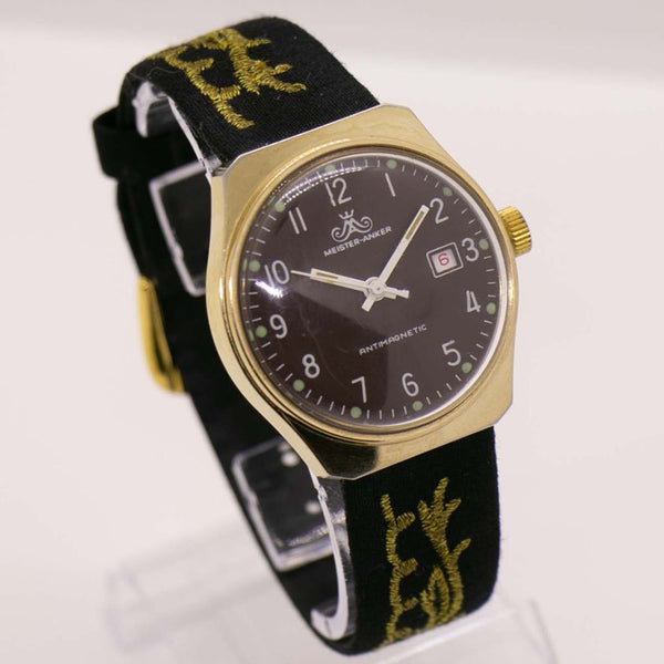 Vintage Meister Anker Antimagnetic Watch | German Mechanical Watch