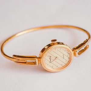 Gold-Tone Louifrey Swiss-made Ladies Watch | Affordable Luxury Watches