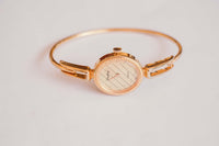 Gold-Tone Louifrey Ladies Watch Watch de lujo asequible hecho por Suiza