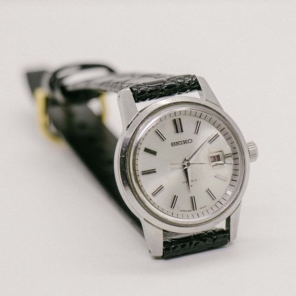 Retro Seiko 2118 - 0230 Watch | 17 Jewelry Seiko Machinery date Watch