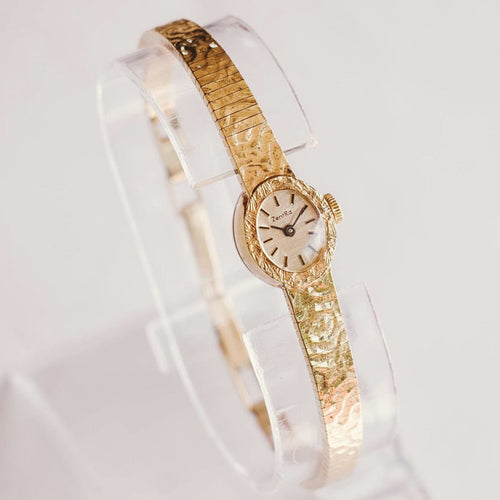 Tiny Gold-Tone Mechanical ZentRa Watch | Gift Watches For Women