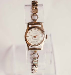 Silver-Tone Genova Antimagnetic Mechanical Watch | Vintage Watches