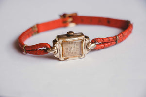17 Jewels Gold-Plated Anker Watch | Vintage Mechanical Ladies Watch