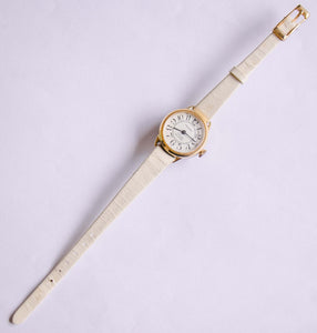 17 Rubis Minimalist Gold-tone Trumpf Watch | Vintage Mechanical Watch