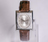 Silver-Tone Bolivia Presidential Mechanical Watch | Vintage Swiss Watches