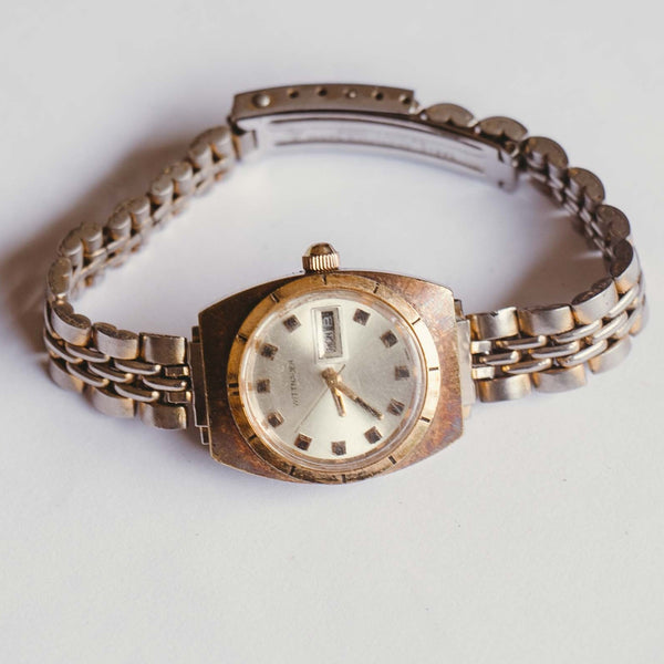 18K Gold Electroplated WITTNAUER Mechanical Watch | Vintage Watches