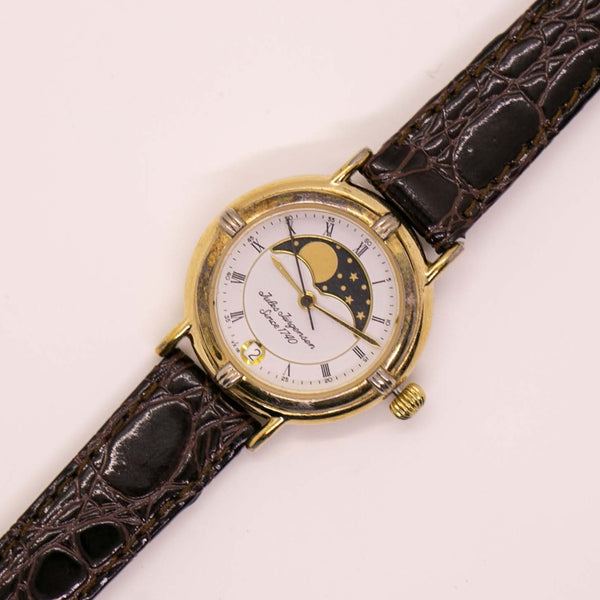 Jules Jurgensen 1740 Gold-tone Moon Phase Watch | Luxurious Watches