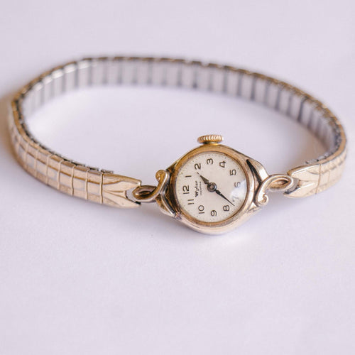 Gold-tone Wyler Incaflex Vintage Watch | 1960s Ladies Watch
