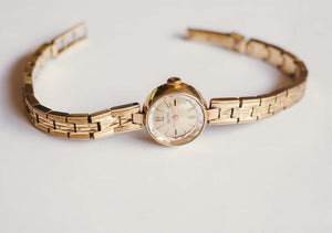 Gold-Tone ZentRA Mechanical Watch | Vintage German Ladies Watches