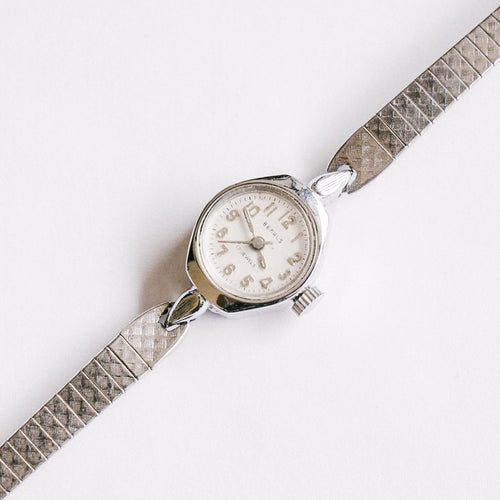 Silver-Tone 17 Jewels Benrus Mechanical Watch | Vintage Ladies Watch