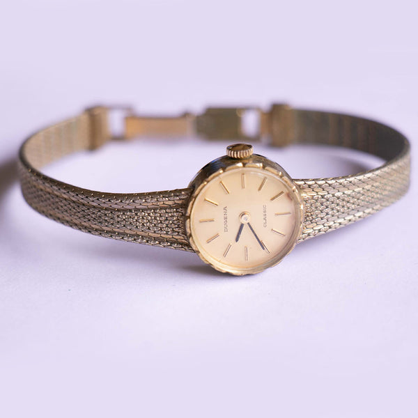 Vintage Dugena Classic Mechanical Watch | Vintage German Ladies Watch