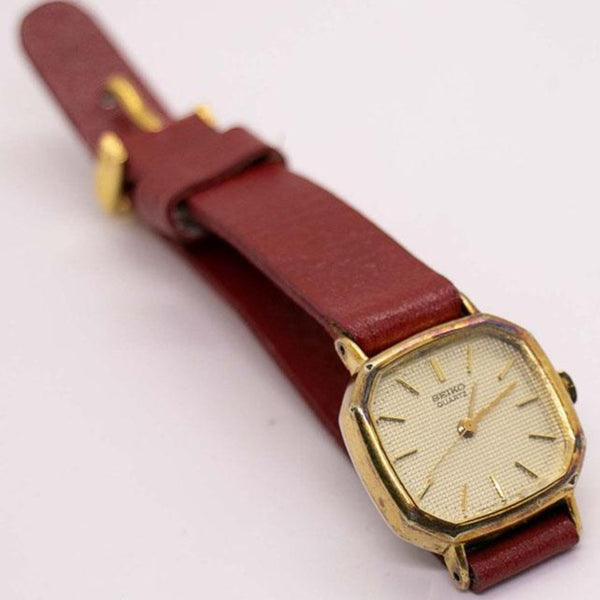 Vintage Seiko 1421-5060 Quartz Watch for Women | 1980s Seiko Watches