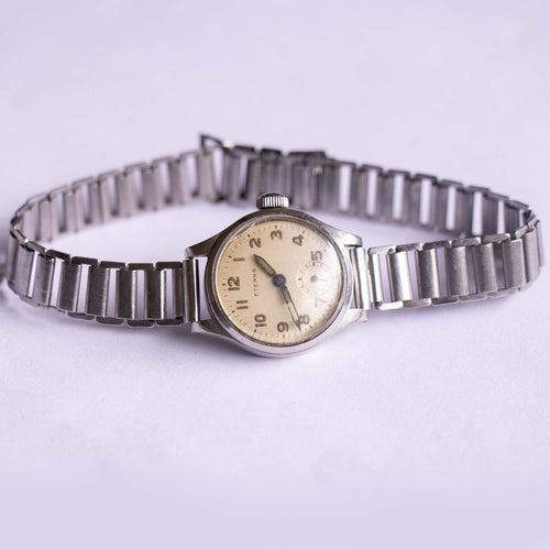1940s Eterna Vintage Mechanical Watch | Swiss-made Hand Winding Watch