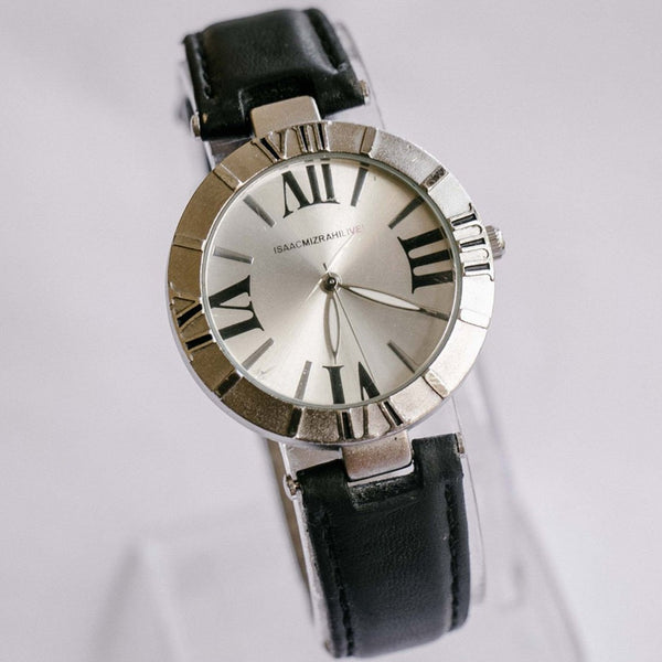 Silver-tone Isaac Mizrahi Live! Watch | Minimalist Branded Watches