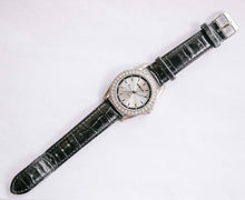 Load image into Gallery viewer, Manhattan Quartz Watch by Croton | Silver-tone Gemstone Watch Unisex