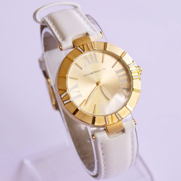 Gold-tone Issac Mizrahi Live! Women's Watch | Luxury Branded Watches