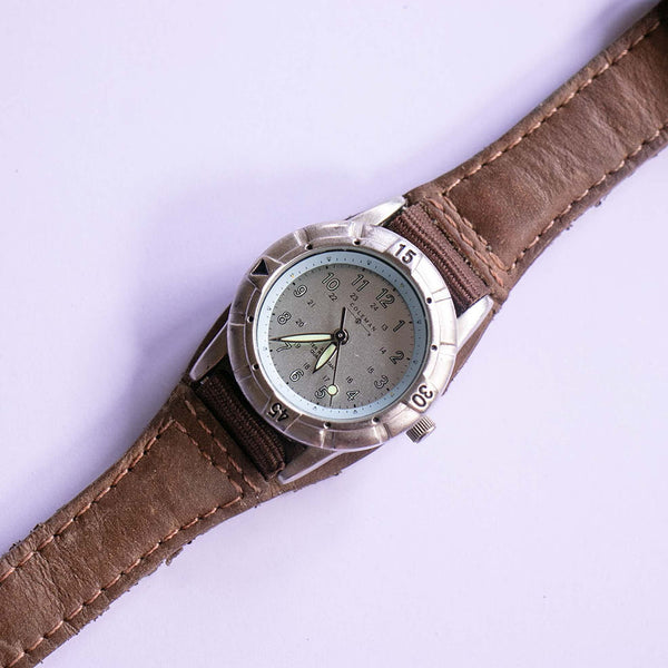 Coleman Silver-tone Quartz Watch | 3ATM Water Resistant Watch Unisex