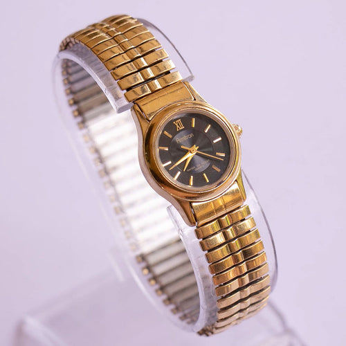 Black Dial Gold-tone Armitron Watch | Best Luxury Ladies Watches