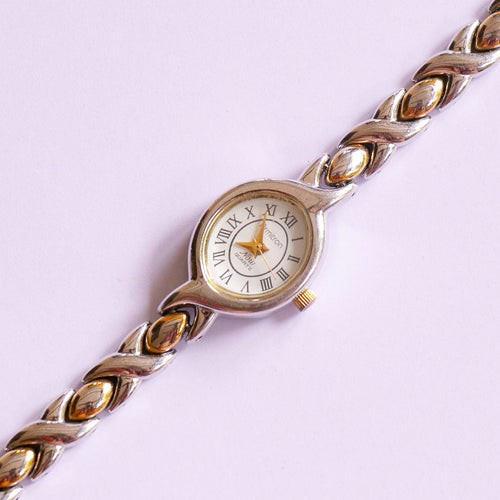 Tiny Two-tone Armitron Watch for Women | Armitron Now Quartz Watch