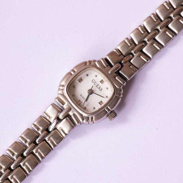 Tiny guess Silver Crystal Watch