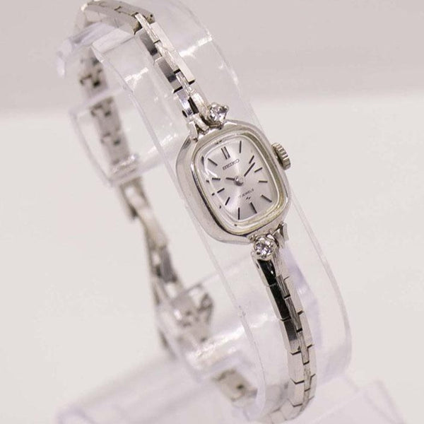 Art Deco Seiko Diamond 17 Jewels Dress Watch | Daini Seikosha