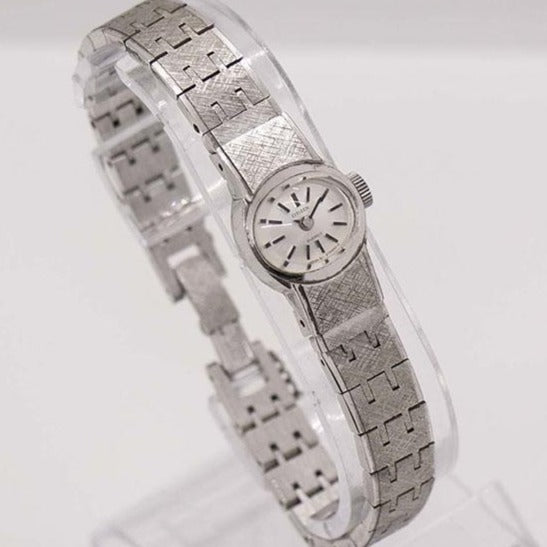 Citizen 21 Jewels White Gold Plated Watch for Women | 1970s Dress Watch