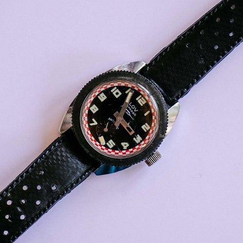 LOV Espadon Swordfish Vintage Racer Watch | 1960s French Diver Watch