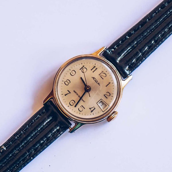 23mm Vintage Timex Acqua Mechanical Date Watch for Women