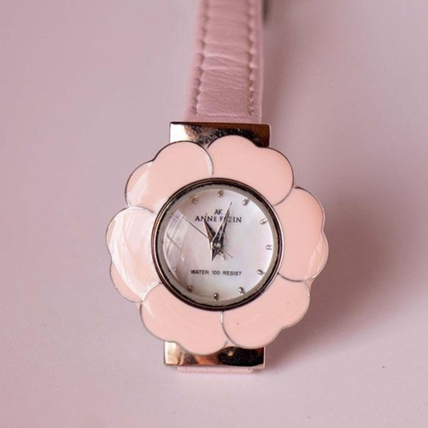 Flower-Shaped Anne Klein Vintage Watch | Designer Watches for Women