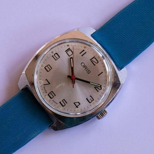 1960s Oris Swiss made Mechanical Watch | Luxury Military Vintage Swiss Watch