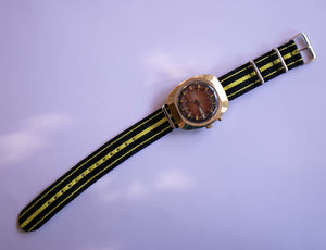 Vintage Slava 27 Jewels Mechanical Gold Plated Watch | Rare Soviet Watches